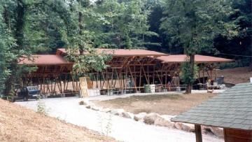 Bambu' in edilizia: il padiglione di Vergiate