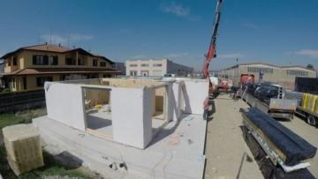 La casa prefabbricata su misura costruita in 4 giorni