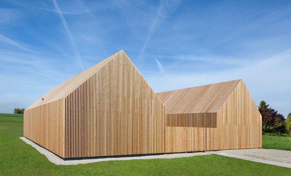 legno in edilizia la wohnhaus aus holz di kuhnlein arkitektur. Black Bedroom Furniture Sets. Home Design Ideas