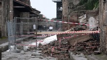Dopo i nuovi crolli a Pompei arrivano 2 milioni di euro