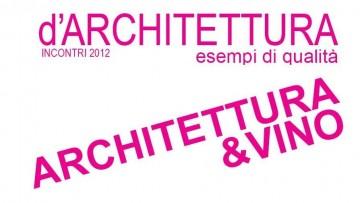 "Incontro ""Architettura e vino"""