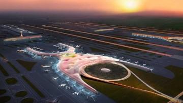Il nuovo aeroporto di Citta' del Messico