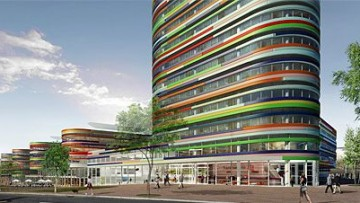 """Nuova """"onda"""" per gli uffici dell'ambiente di Amburgo"""