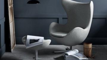 La poltrona Egg di Arne Jacobsen