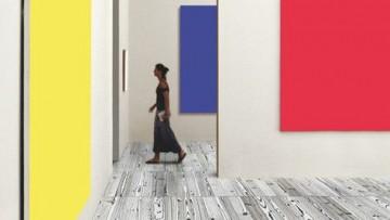 Il legno colorato alla Warhol