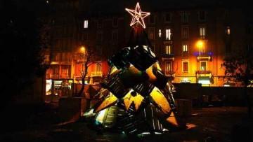 L'albero di Natale: se riciclato e' cool