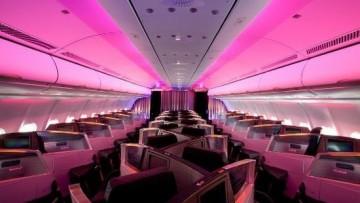 La nuova Upper Class Suite: comfort in volo