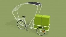 Triciclo solare raccogli-rifiuti, un progetto firmato Cibic
