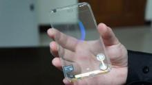 Lo smartphone sara' trasparente?