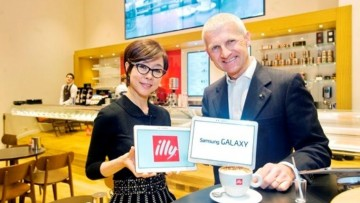Illy caffe' inaugura in Regent Street