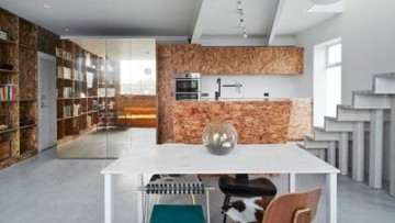 Un piano in più per un appartamento rinnovato