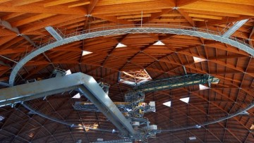 Rubner Holzbau | Grandi opere in legno | Cupole in legno, Brindisi