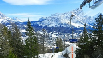 Ditre Italia per la seggiovia di Cortina d'Ampezzo