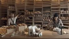 Baker D Chirico: come in un cestino del pane