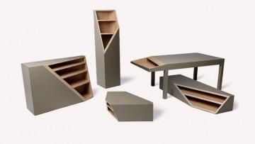 Cutline, i mobili sezionati di Alessandro Busana