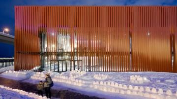 800 nastri rossi per il Museo del Nebuta
