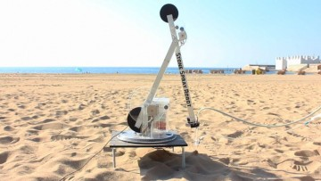 La stampante 3d che crea architetture di sabbia