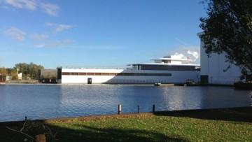 Pronto lo yacht di Steve Jobs firmato Starck