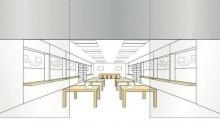 """Il design degli Apple Store e' """"marchio di fabbrica"""""""