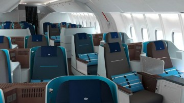 Klm, il riciclo in business class