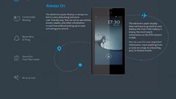 Yotaphone, lo smartphone a doppio display