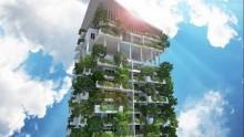 Un giardino verticale di 46 piani