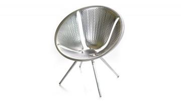 Alluminio e laser 3D per la Diatom Chair