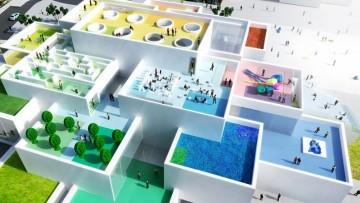 Lego House, via ai lavori