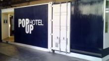 Il PopUp Hotel nato dai container riutilizzati