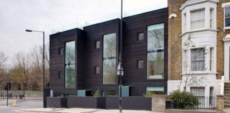 Dal mattone al legno per la casa a schiera pi famosa del for Ville architetti famosi