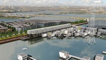 Waterdwellings: architettura prefabbricata sull'acqua