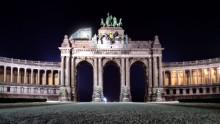 Un ristorante portatile per i monumenti d'Europa