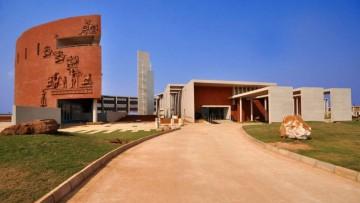 Un nuovo campus antico nel cuore dell'India