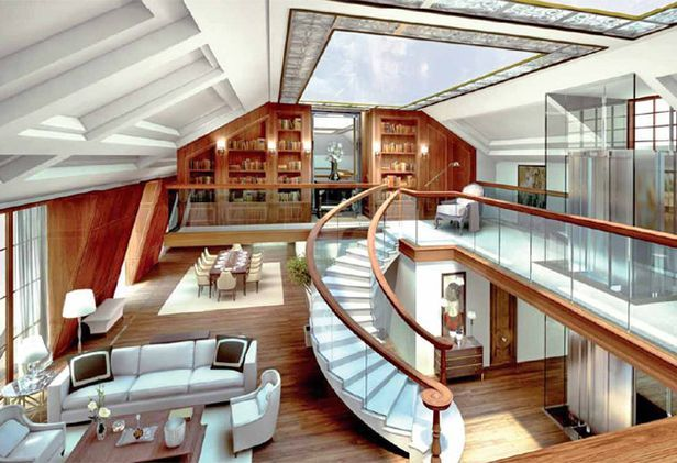 The glebe 6 appartamenti da sogno firmati norman foster for Appartamenti lusso new york