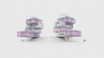 "Una ""pink house"" tutta green"