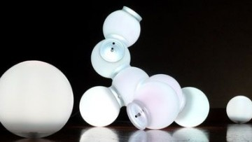 Nomad Light Molecule, lampada del designer Maarten De Ceulaer