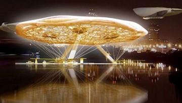 Aerohotel, rivoluzionaria struttura di architettura acquatica