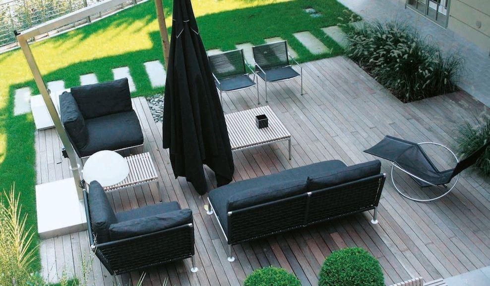 Quali materiali per arredare giardini e terrazze for Giardini da arredare
