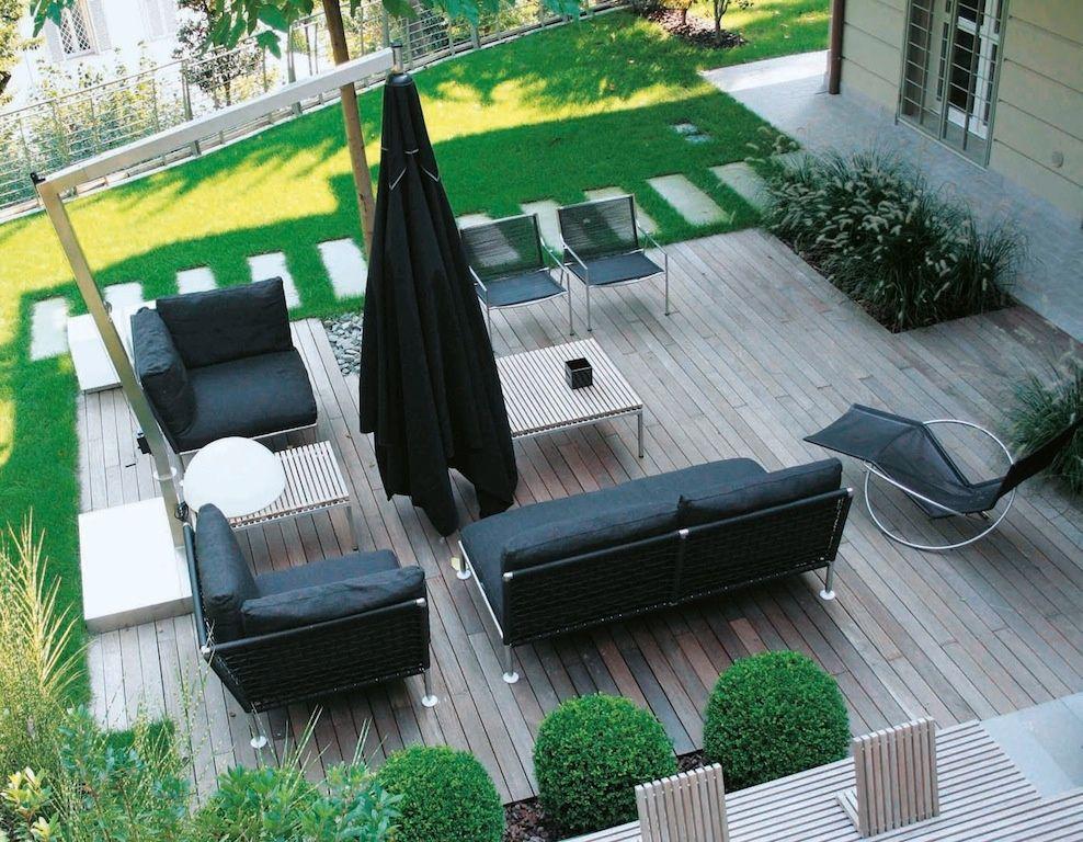 Quali materiali per arredare giardini e terrazze for Accessori per terrazzi e giardini