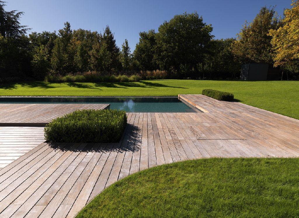 Progettare giardini e terrazze: le pavimentazioni in legno  Architetto.info