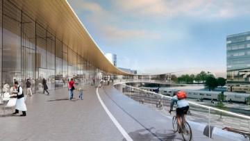 Bjarke Ingels progetta la stazione del futuro (in Svezia)