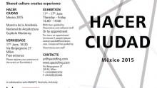 Hacer Ciudad Mexico 2015