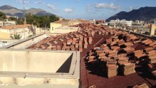 Le lastre da sottocopertura Onduline per la ristrutturazione dell'ospedale Vincenzo Cervello di Palermo