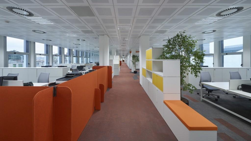 Architettura uffici progetto cmr per la nuova sede della for Lavoro architetto milano