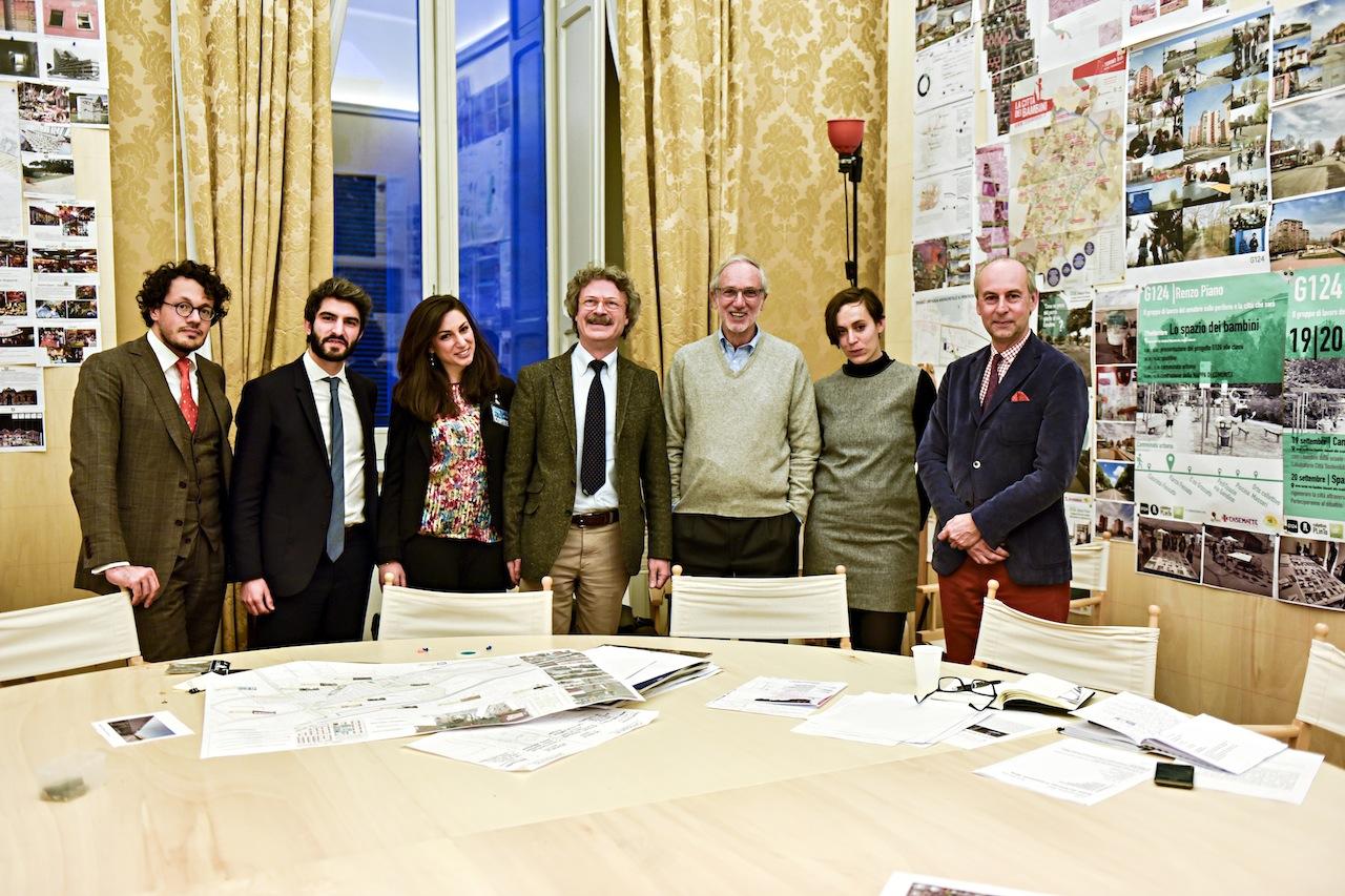 Renzo Piano e il gruppo G124