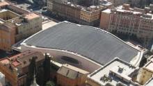 Il fotovoltaico installato a Città del Vaticano