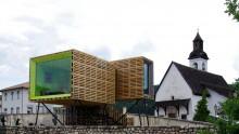 Case modulari in legno: Homeair è sospesa e realizzata con i pallet