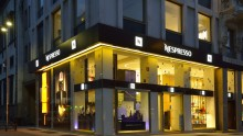 Parisotto + Formenton per il primo flagship store Nespresso in Italia
