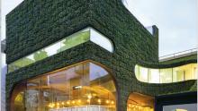 Chiusure verticali vegetate: lo store Ann Demeulemeester a Seoul