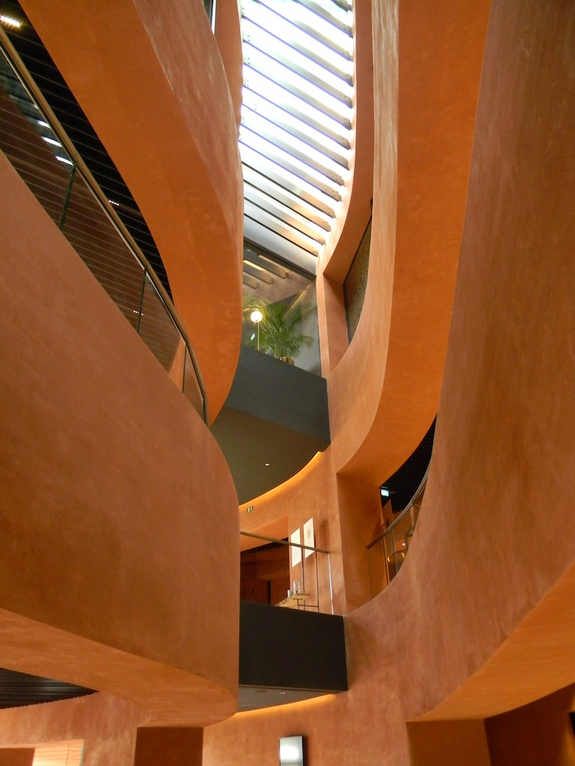Padiglione degli Emirati Arabi Uniti: spazi interni. (© Edoardo Bit)